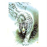 Qlldwxu 520 Pices Tiger Jigsaw Paper Puzzles, Educational Toys For Adults Children,for Adults Kids Puzzle Sets For Family Home Decoration