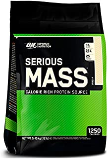 Optimum nutrition Serious Mass - 5,45 kg Choco Mint