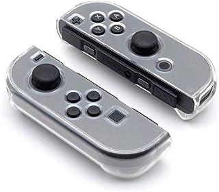 OSTENT Capa rígida transparente para controle Nintendo Switch Joy-con