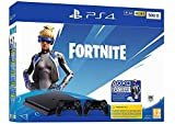 PlayStation 4 Slim - Konsole (500GB, Jet Black) + 2 Controller: Fortnite Neo Versa Bundle [Importación alemana]