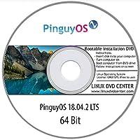 PinguyOS 18.04.2 LTS (64Bit) - Bootable Linux Installation DVD