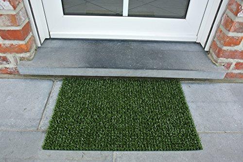AstroTurf Classic Felpudo Alfombra de Entrada Exterior, 40 x 60 cm, Color Verde clásico, 60x40x1 cm