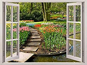 Paintings Diamond Embroidery Landscape Cross Stitch Diamond Painting Full Square Window Bead Picture Kits Home Decoration ...