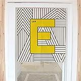 のれん アンパンマン 80X150CM 新鮮な幾何学的な手紙_a1784 入り口のカーテンは脱衣場の目隠し 出入り用 のれん 45cm幅 のれん 幅 90cm アジアン風 のれん
