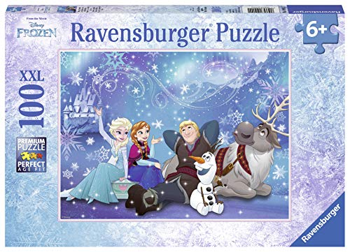 Ravensburger Kinderpuzzle 10911 - Frozen - Eiszauber - 100 Teile