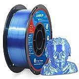 Shiny Silk Navy Blue PLA Filament 1.75mm 3D Printer Filament 1KG (2.2LBS) Printing Materials Silky Shiny Metallic Metal Copper Like PLA 3D Printer Material