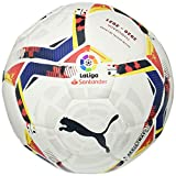 PUMA LaLiga 1 Accelerate Hybrid Ball Ballon De Foot Unisex-Adult, White-Multi Colour, 3
