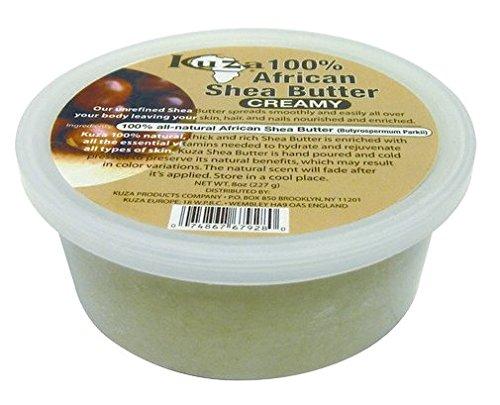 Kuza Shea Butter White Creamy, 8 oz