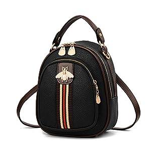 ZNYFリュック レディース ミニリュック かわいい 小学生 女の子 PUレザー リュックサック ショルダーバッグ ハンドバッグ 3way 子供 リュック キッズ (mini bag 1)