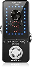 LEKATO Guitar Effect Pedal Guitar Looper Pedal Tuner Function Loop Station Loops 9 Loops 40 minutes Record Time with USB C...
