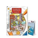 Ravensburger tiptoi Inglés Libro Diccionario básico de la escuela Inglés + Niños Mapa del mundo - Países, Animales, Continentes