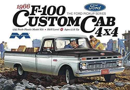 Moebius 1236 1966 Ford F-100 Custom Cab 4X4 Model...