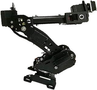 Baosity Metal Smart 8 DOF Robot Arm Kit Robotic Arm Edge Kit 8 Axis for Arduino DIY