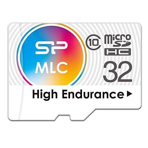 シリコンパワー 高耐久 ドライブレコーダー用 microSDHCカード 32GB Class10 MLC NANDフラッシュ採用 2年保...