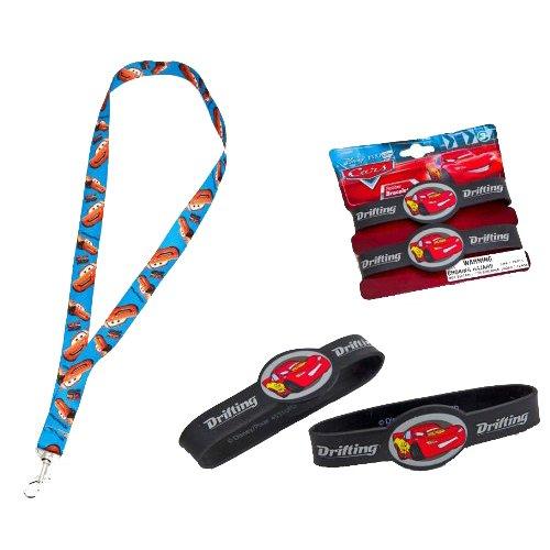 Joy Toy - 61139 - Bracelet caoutchouc - Disney Cars 2 - imprimé