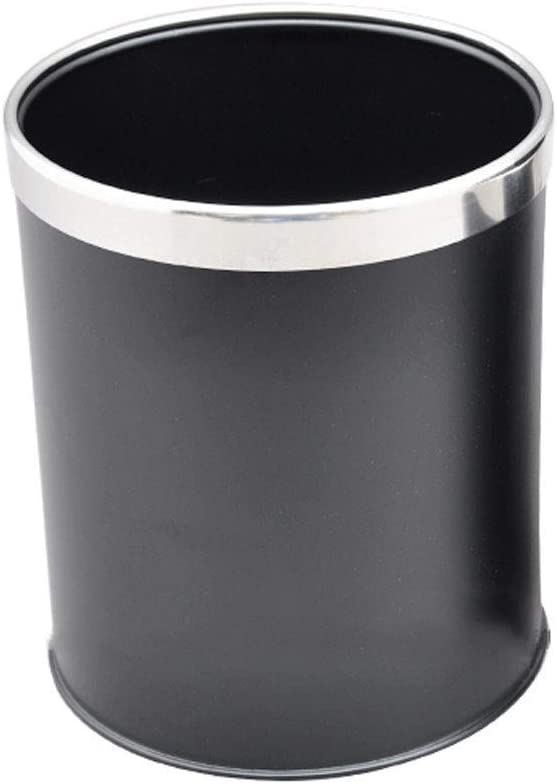 QTBH Trash Can Charlotte Mall Dustbin Stainless St Office Max 73% OFF can Steel Hotel