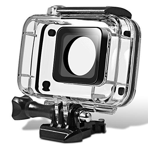 Senhai Custodia Impermeabile per Yi Action Camera 2, Sostituzione Immersioni subacquee Protezione Custodia 45m con la Staffa per Xiaomi Yi 4K Yi 2 Xiaoyi II