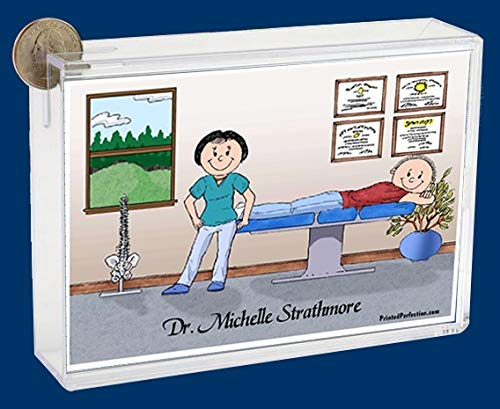 Personalized Friendly Folks Cartoon Caricature Bank: Chiropracto, Sports Medicine, Doctor, Sports Medicine Doctor…