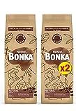 Bonka Café Tostado Grano Natural, 500 g - 2 Paquetes