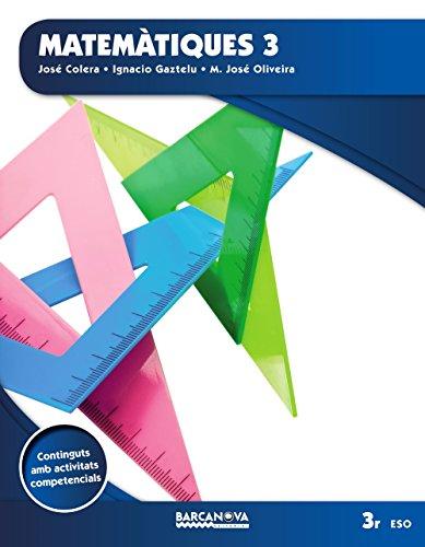 Matemàtiques 3 ESO. Llibre de l