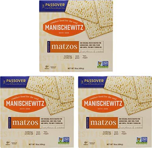 Manischewitz Kosher For Passover Matzo 3 LBS (3 Boxes)