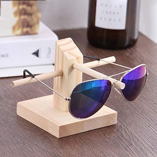 Schmuckständer Massivholz-Brillenfassungen, Brillengläser Ausstellungsstand, Sonnenbrille-Ausstellungsstand, Storage Racks Schmuckorganisator (Größe : 1 Layer)
