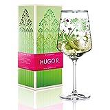 RITZENHOFF Hugo R. Hugo-Glas, Aperitif-Glas von Carolyn Gavin, aus Kristallglas, 600 ml, mit edlen Platinanteilen