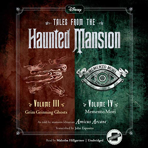 Tales from the Haunted Mansion: Volumes III & IV cover art