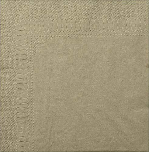 Toalla, 2 Hojas, 20 x 20 cm, Arcilla, 18 Paquetes de 100