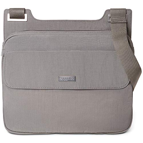 BG by Baggallini Hailey Crossbody Bag - Lightweight, Water-Resistant Travel Purse With Adjustable Strap and Multiple Pockets