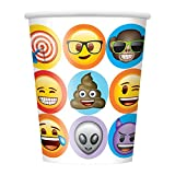 Unique Party 50916 celebración Emoji vasos de papel,...