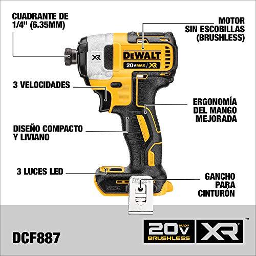 DEWALT 20V MAX Cordless Drill Combo Kit, 2-Tool (DCK287D1M1)