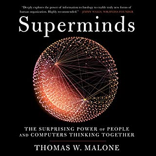 Superminds audiobook cover art