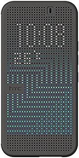 HTC Dot View II Case for HTC One M9 - Retail Packaging - Black