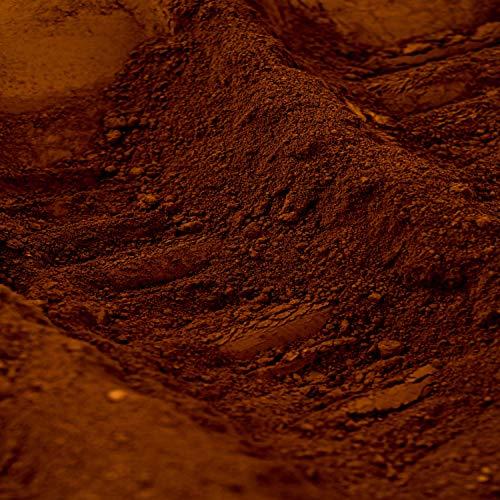 Pigment naturel pour béton et chaux:Terre d'ombre Calcinée - 1 Kg