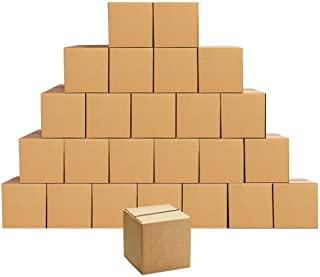 EdenseeLake Shipping Boxes Small 5 x 5 x 5 Inches Cardboard Boxes, 25 Pack