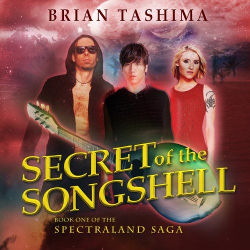 Secret of the Songshell audiobook cover art