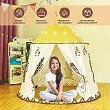 Gupamiga Spielhaus Spielzelt Kinderzelt Tipi Zelt für Kinder Pop Up Klappspielzeug für für...
