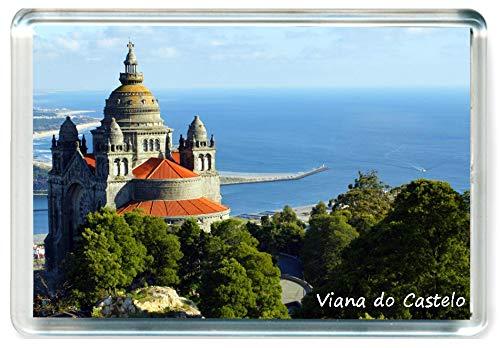 DreamGirl I393 Viana do Castelo Jumbo Imán para Nevera Portugal Travel Fridge Magnet