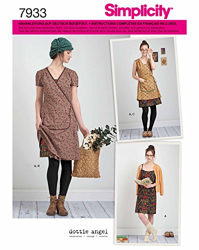 Simplicity 7933.D5 Schnittmuster Träger-Kleid (Unisex, Gr. 30 - 38)