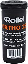 Rollei Film Accessories Ortho 25 ISO, 120 Size