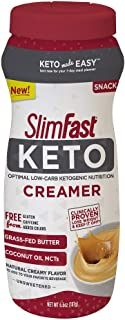 SlimFast Keto Ketogenic Creamer, 6.6oz, 15 Servings