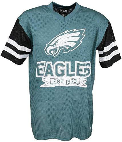 New Era NFL Contrast Sleeve Os tee Phieag PNG Camiseta de Ma
