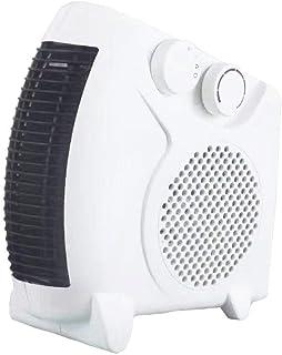 Calefactor eléctrico de Aufun, 2 niveles de calor (1000 W/máx.2000 W), nivel de frío (ventilador), color blanco 2000.00W
