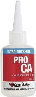 Great Planes Pro CA Ulta-Thick Glue Glue, 1 oz.