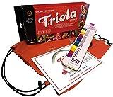TRIOLA 12 Kompakt-Set mit Tasche für Instrument und Noten: die beliebte Blasharmonika mit farbigen Tasten für Kinder im Set mit dem...