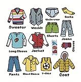 Gwill Boy calcomanías para vestidor de Ropa, Etiquetas para vestidor de...