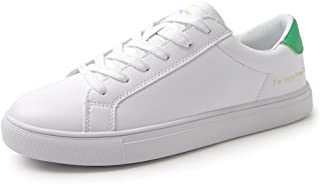 Skateboarding Shoes - Fashion White Breathable Flat Shoes Lace up Women Casual Sports Shoes