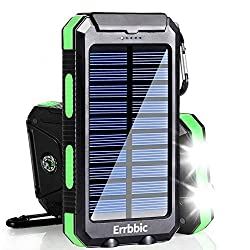 top rated Solar Charger, 20000mAh Solar Power Bank Waterproof Portable Charger External Battery … 2021