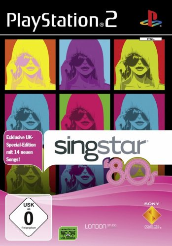 Singstar 80's UK [Software Pyramide]